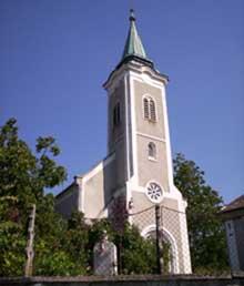 Veszprém-Kádárta templom