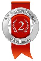 Az év Panziója 2. hely az év szálláshelye szavazáson