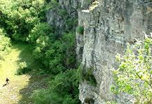 Sziklafal (hegymászóknak)