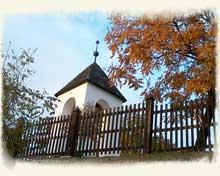 Református templom, harangláb Tihany